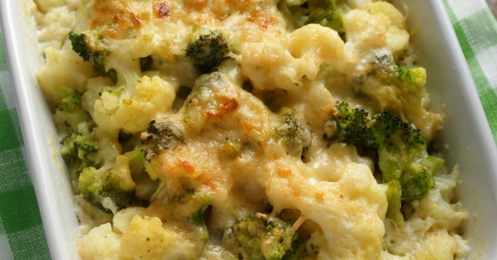 Cheesy Cauliflower Broccoli Bake  12 Tomatoes-1468