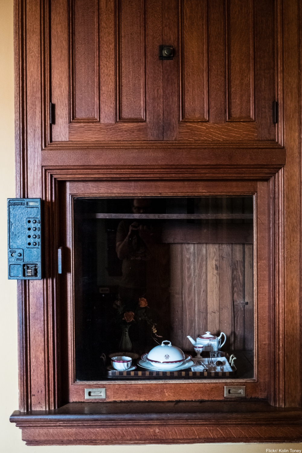See Inside the Charming and Massive Biltmore Estate- dumbwaiter