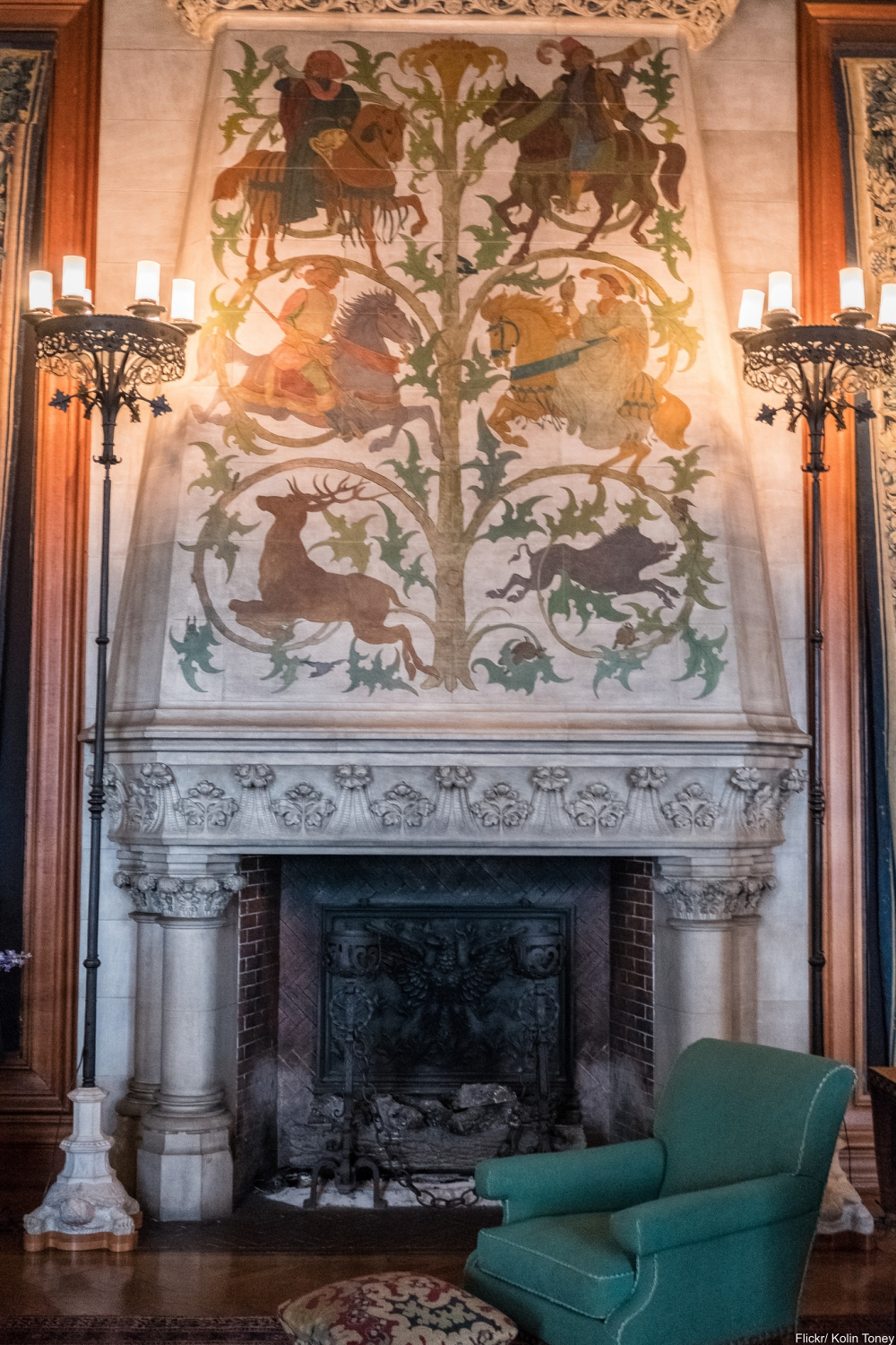 See Inside the Charming and Massive Biltmore Estate- Tapestry Room