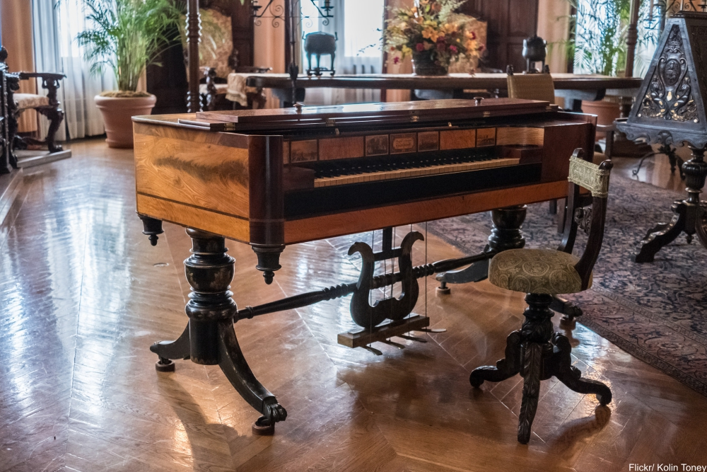 See Inside the Charming and Massive Biltmore Estate- music room