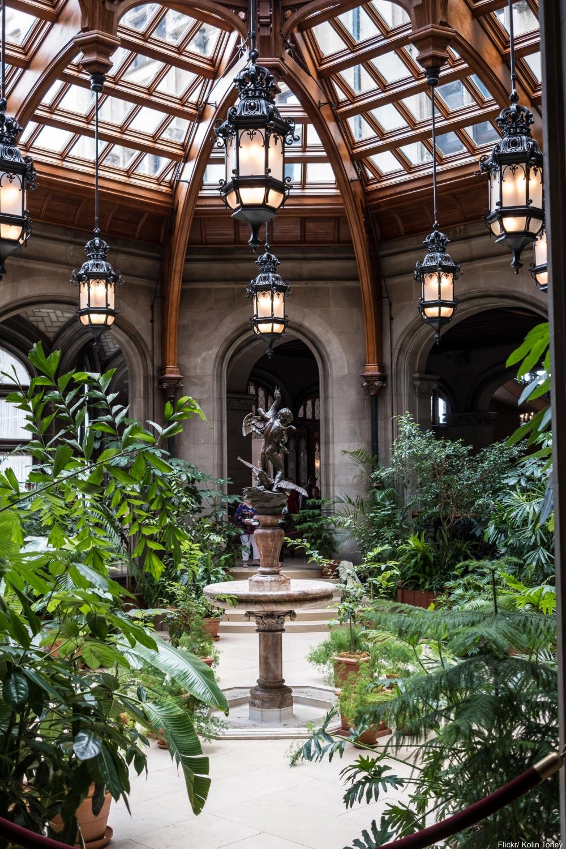 See Inside the Charming and Massive Biltmore Estate-  Atrium