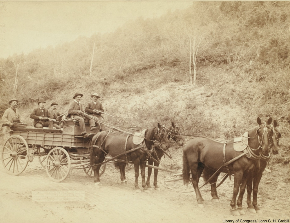 Gold Mining in the Old Days