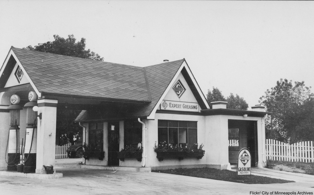 We Remember the Service Stations of the Past