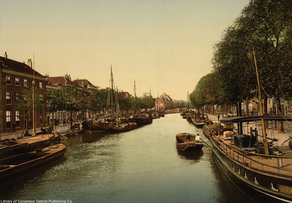 See the Quaint Holland of 1890