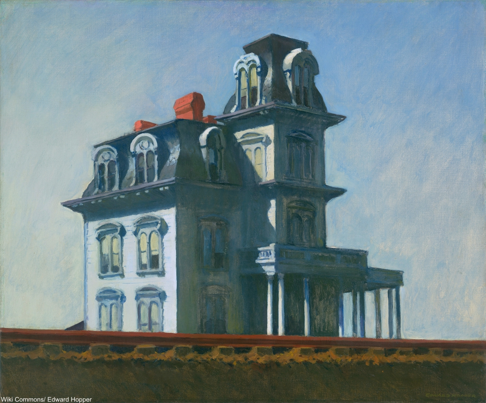 The House by the Railroad Painting by Edward Hopper
