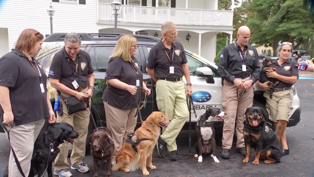 Tri-State K-9 response team