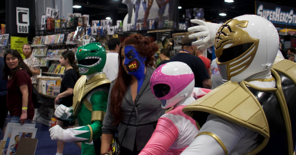 Flickr/Ed Quinn: cosplayers at a 2015 Boston Comic Con