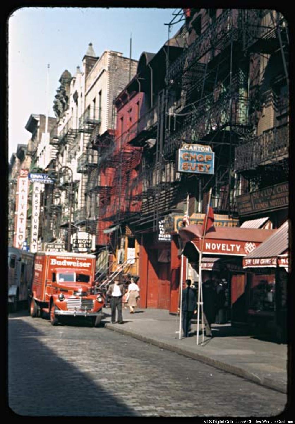Street in New York's Chinatown