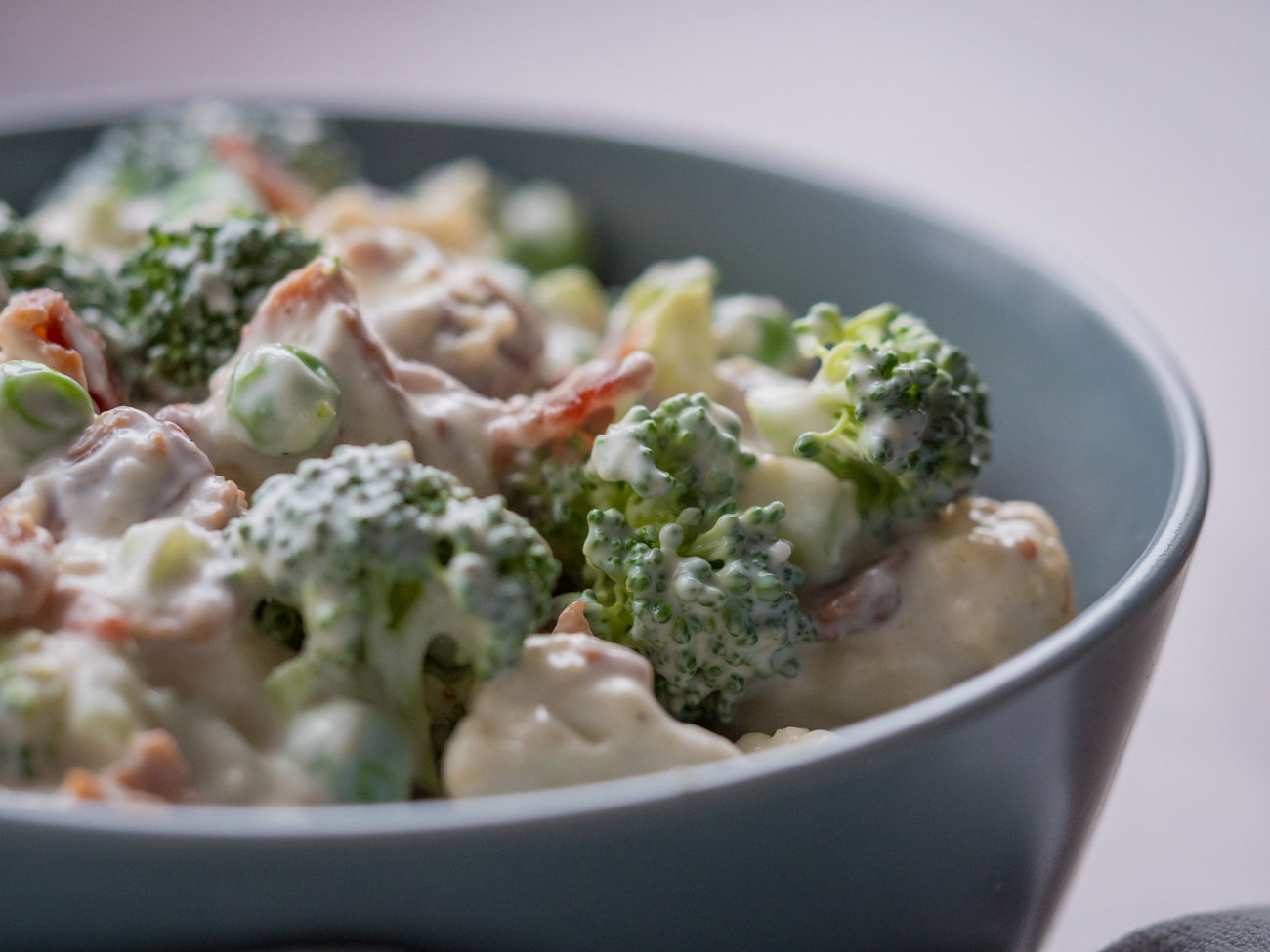 Broccoli Cauliflower Salad Horizontal 7