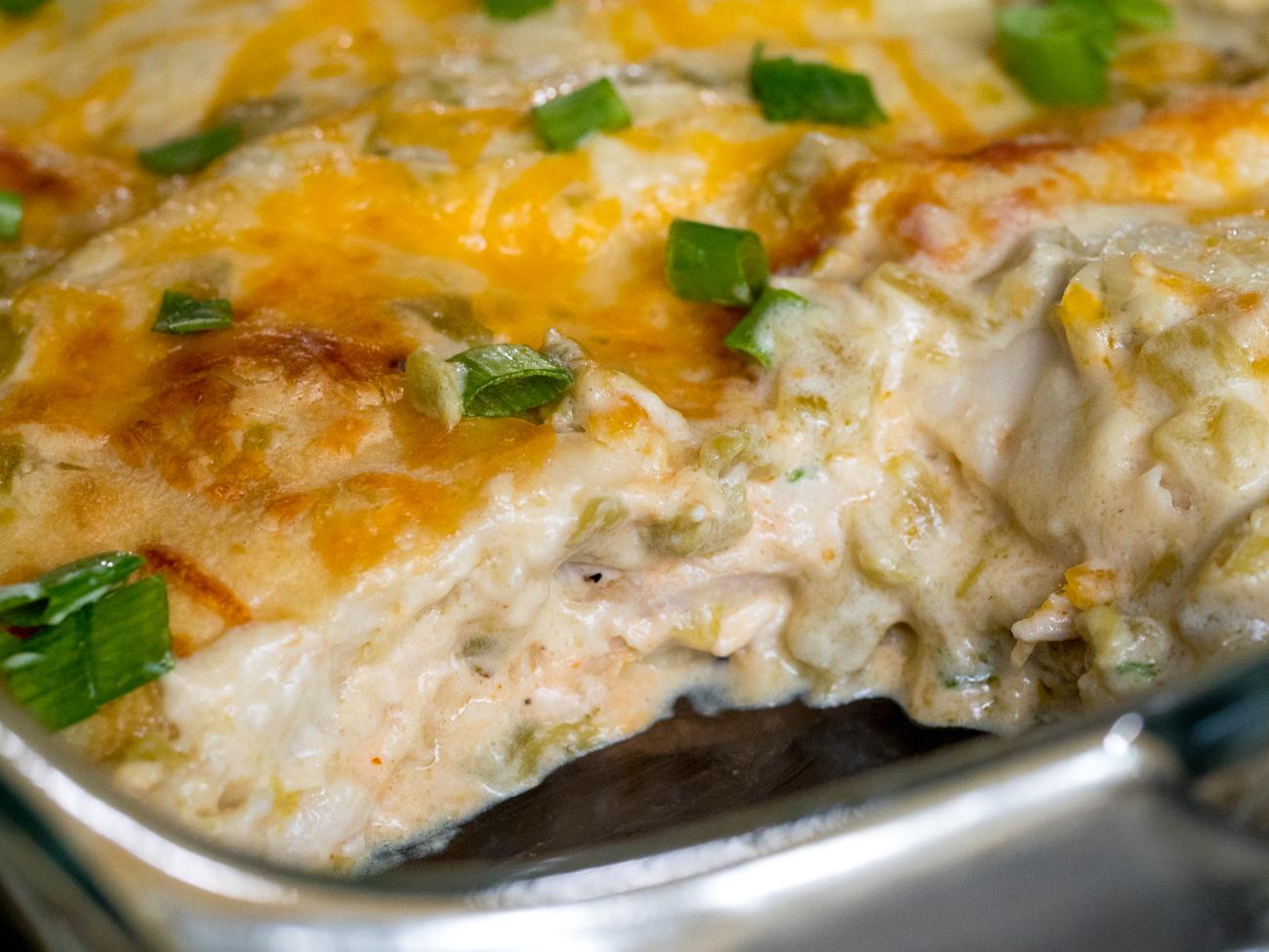 Cream Cheese Chicken Enchiladas Horizontal 5