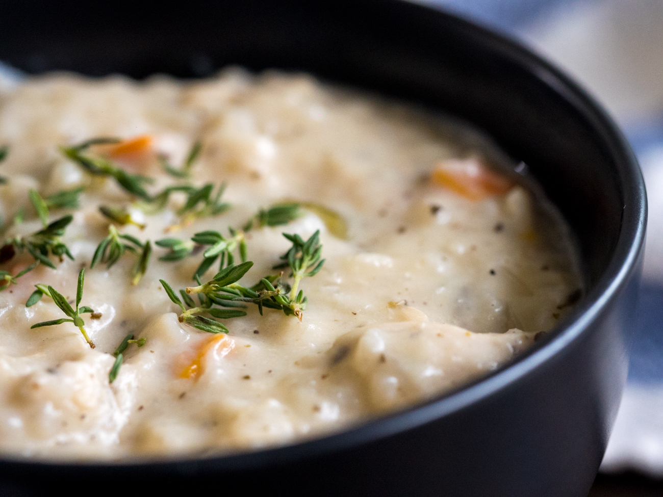 Creamy Slow Cooker Chicken Soup Horizontal 4