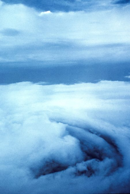 Hurricane Debbie, 1969. NOAA photo.