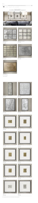 Restoration Hardware's Map Gallery features elegant framed vintage maps of the world. It's great for inspiration.