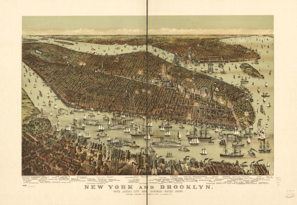 New York, Brooklyn and Hoboken.