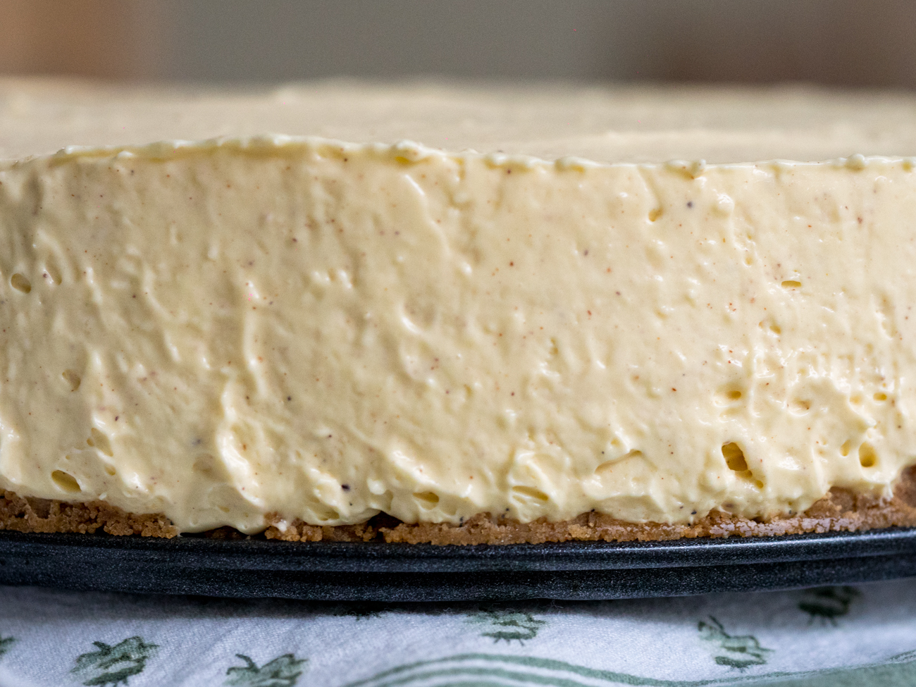 No-Bake Eggnog Cheesecake Horizontal 2