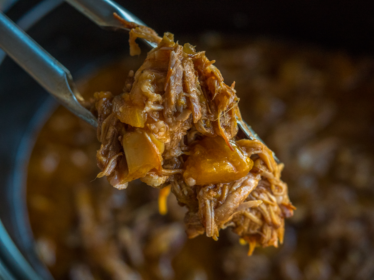 Peach BBQ Pulled Pork Horizontal 4