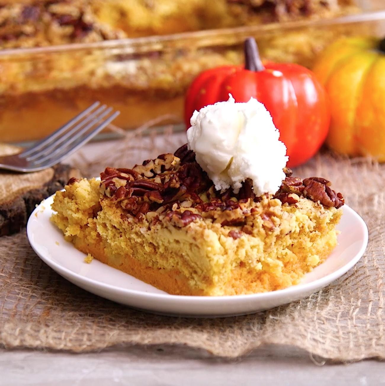 Pumpkin Crumble Cake 1