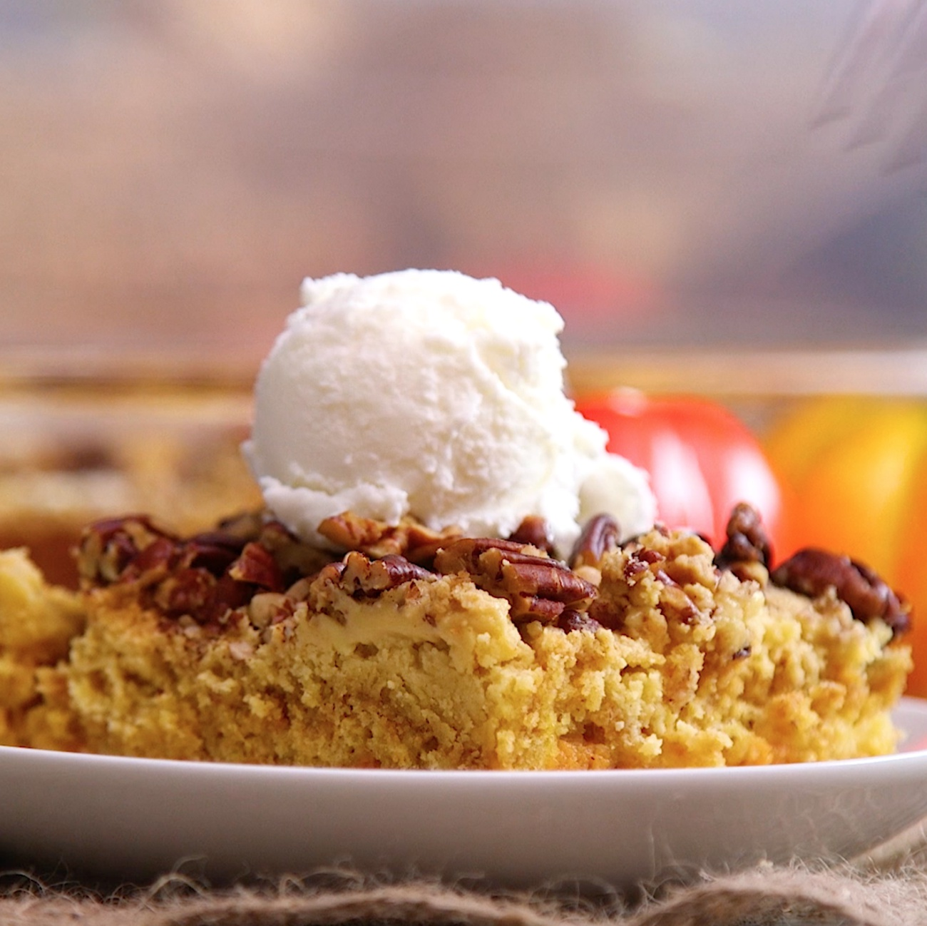 Pumpkin Crumble Cake 2