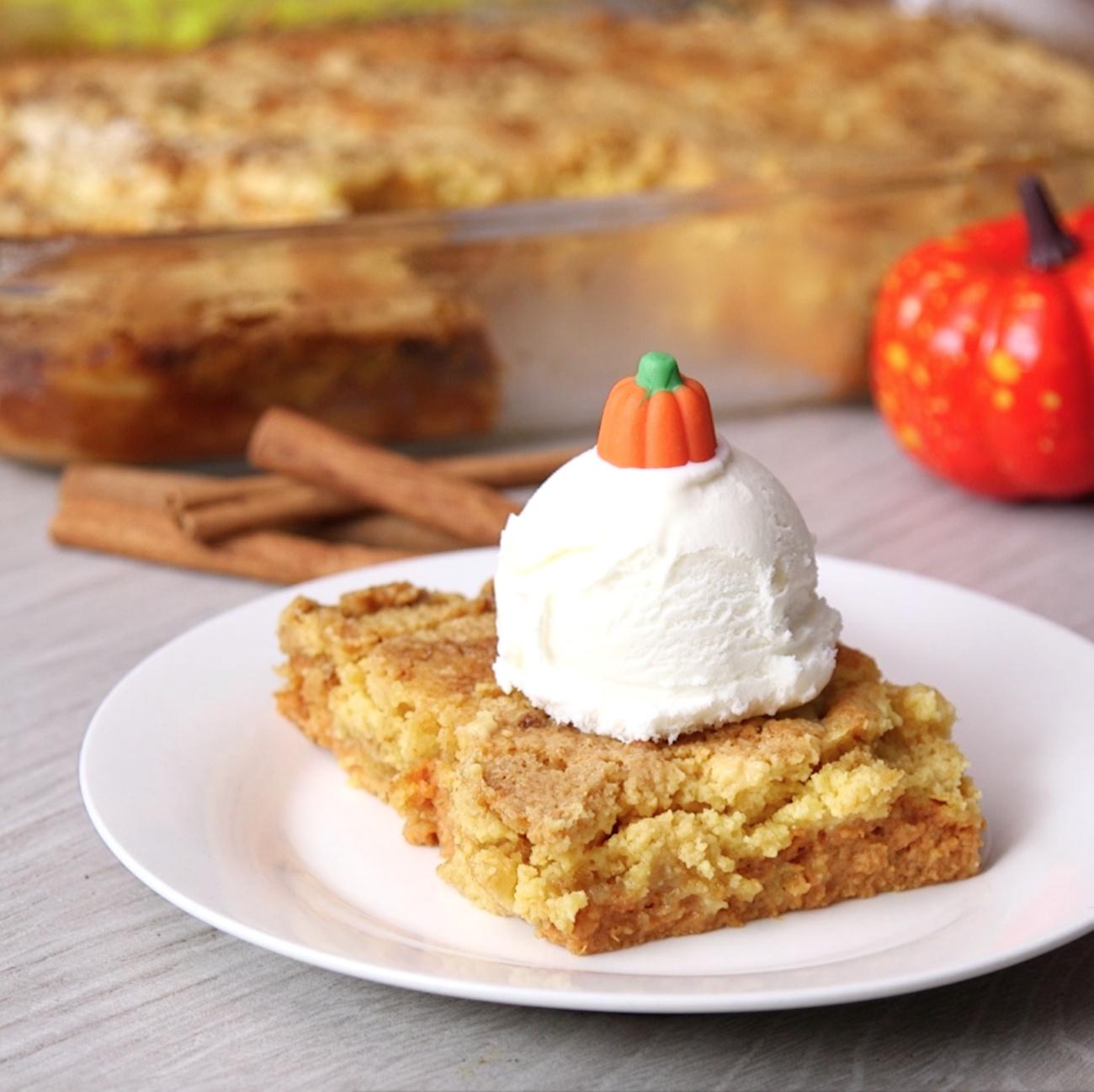 Pumpkin Dump Cake 2