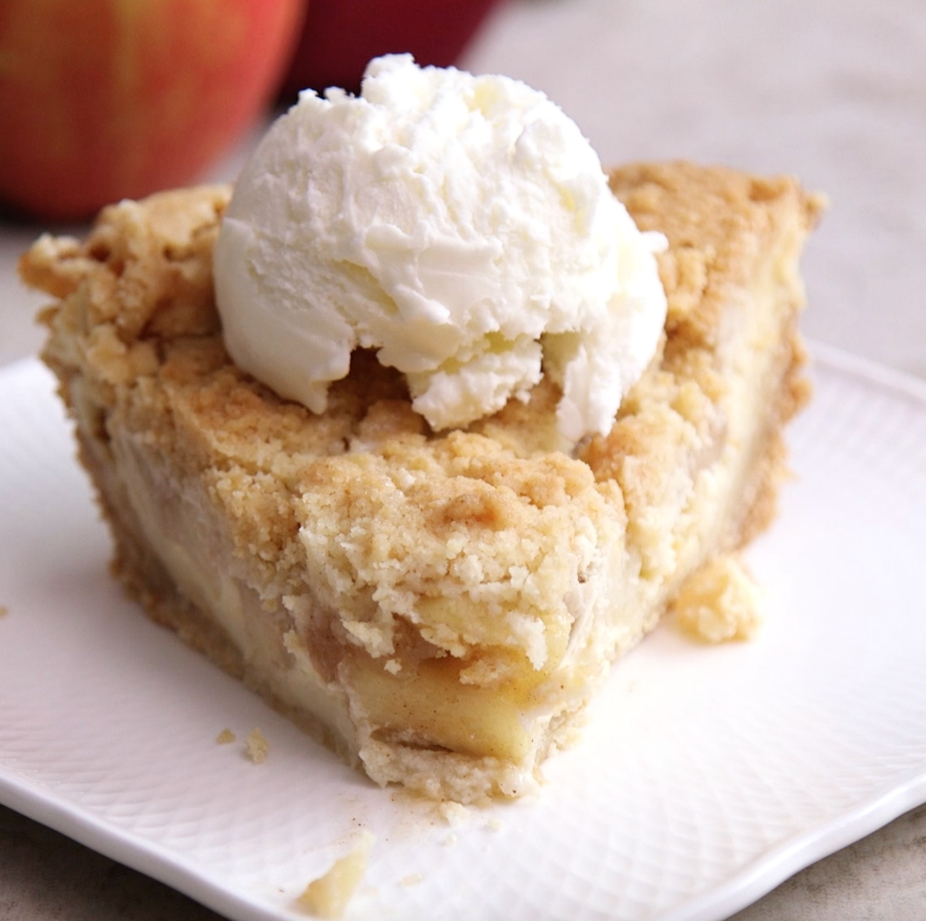 Snickerdoodle Apple Pie 3