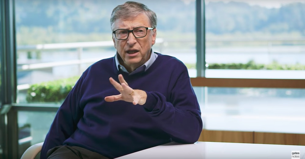 YouTube/Bill Gates