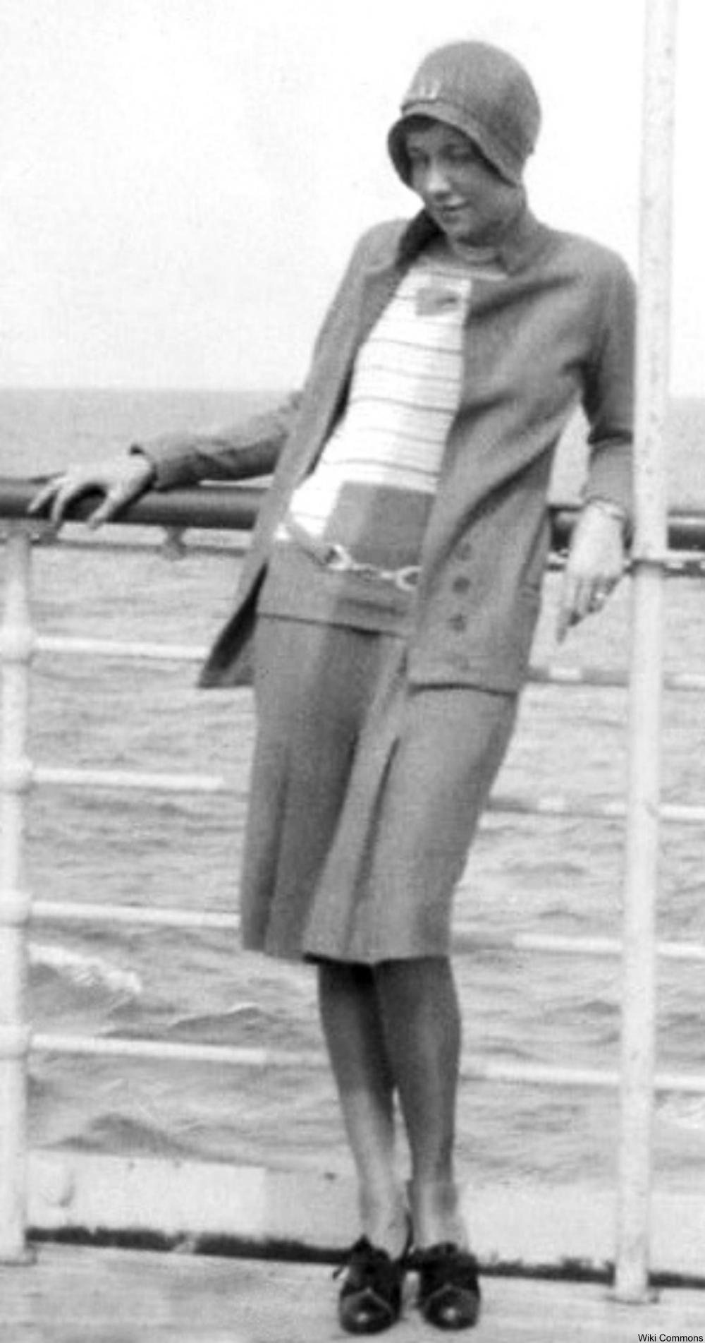 flapper on board a ship