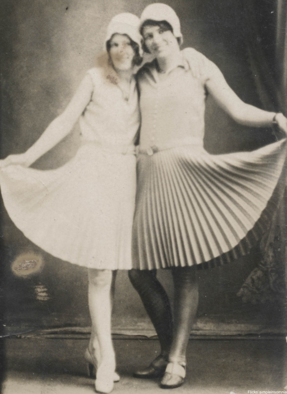 two lovely flappers