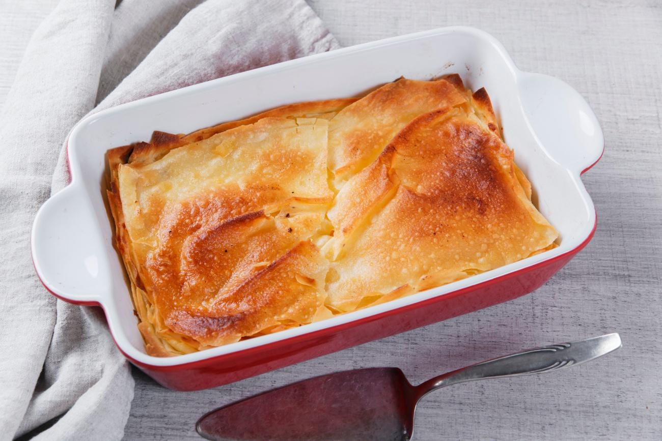 cheese and pastry pie phyllo burek