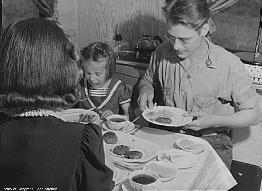 macaroni was a staple food for many families during the Great Depression