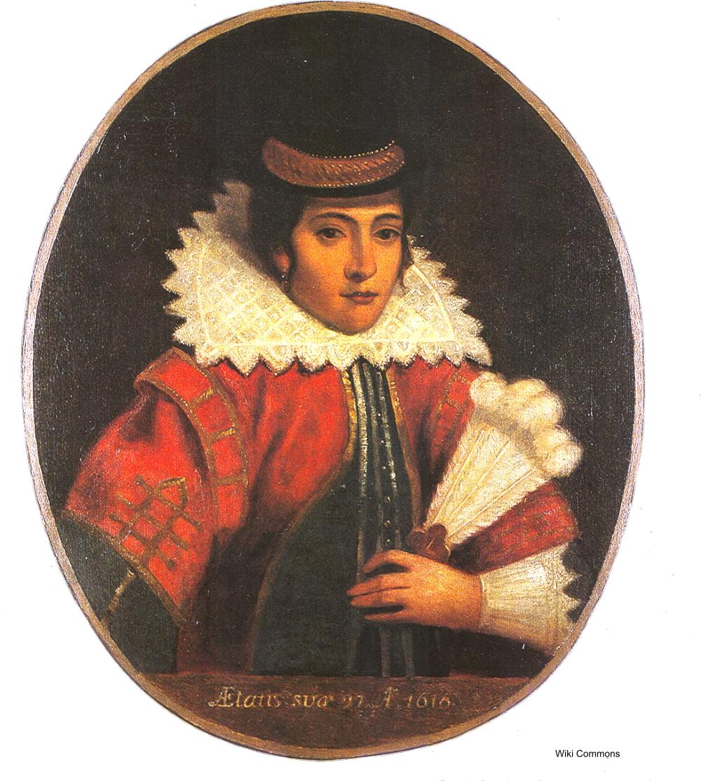 painting of Pocahontas
