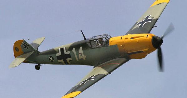 Source: Wikimedia Commons German Messerschmitt Bf 109E.