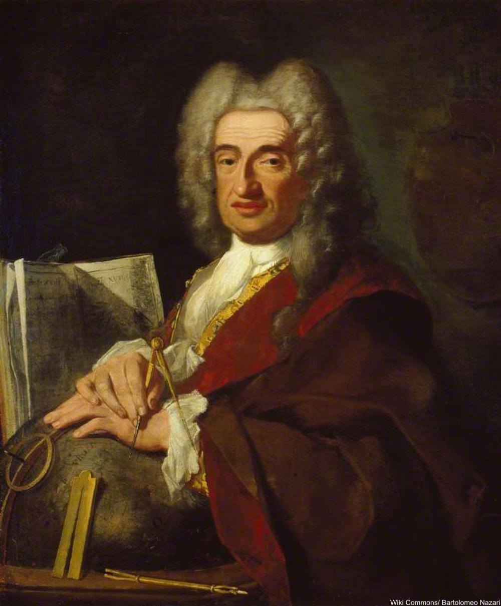 18h century cartographer, Luca Carlevarijs
