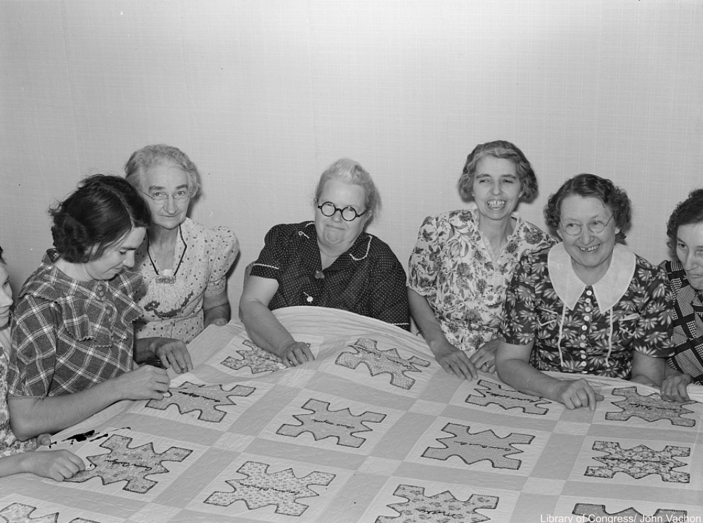 Quilting bee