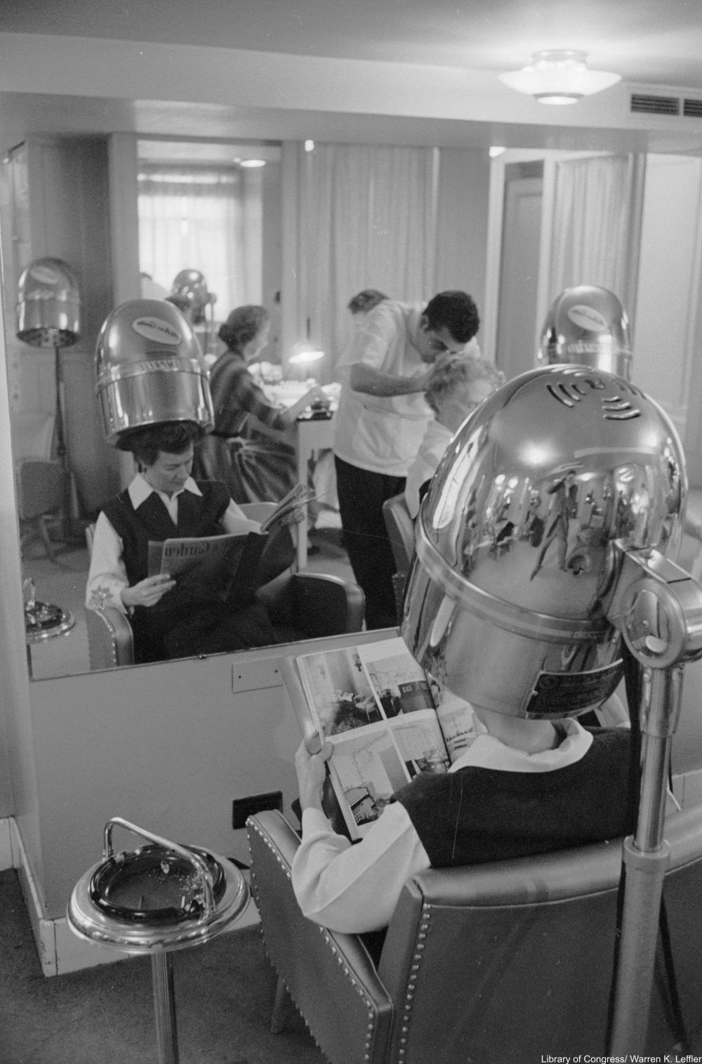 memories of the hair salon