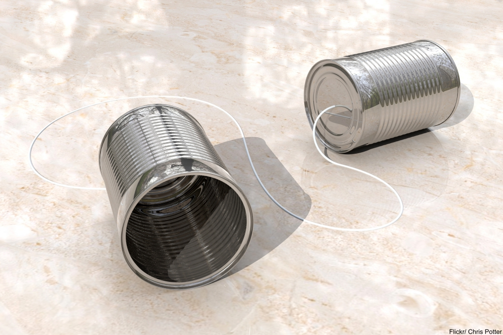 tin can string telephone