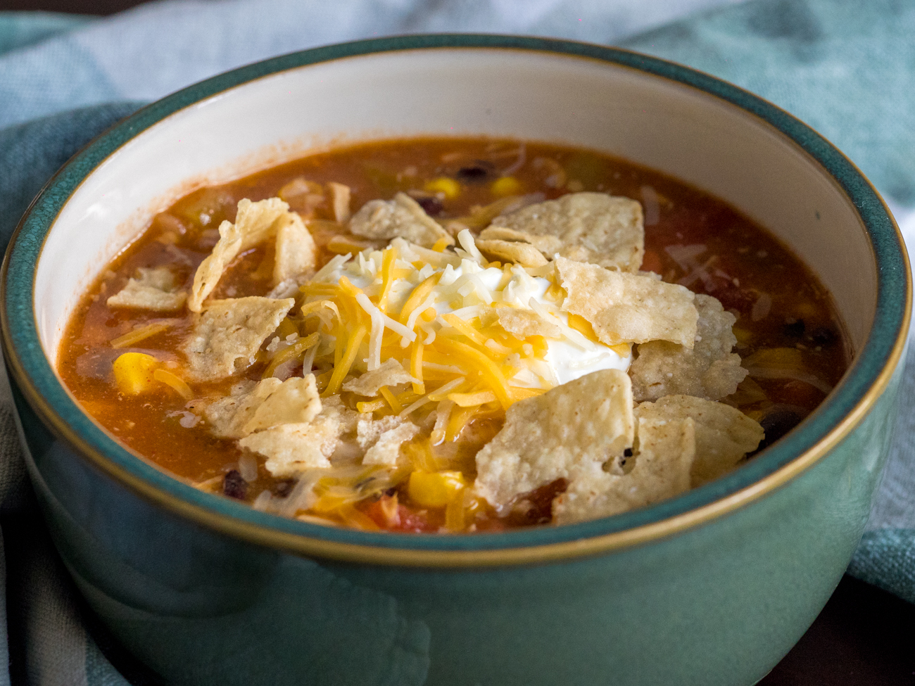 8-Can Chicken Taco Soup Horizontal 3