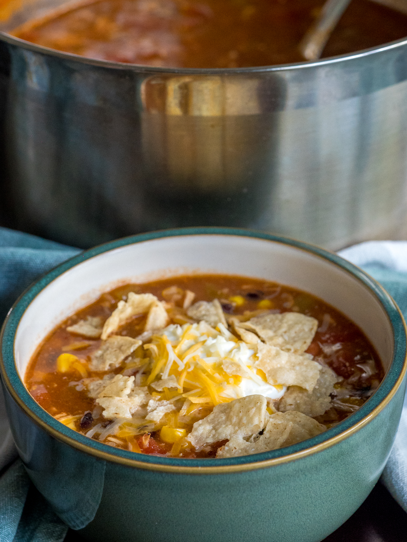 8-Can Chicken Taco Soup Vertical 3