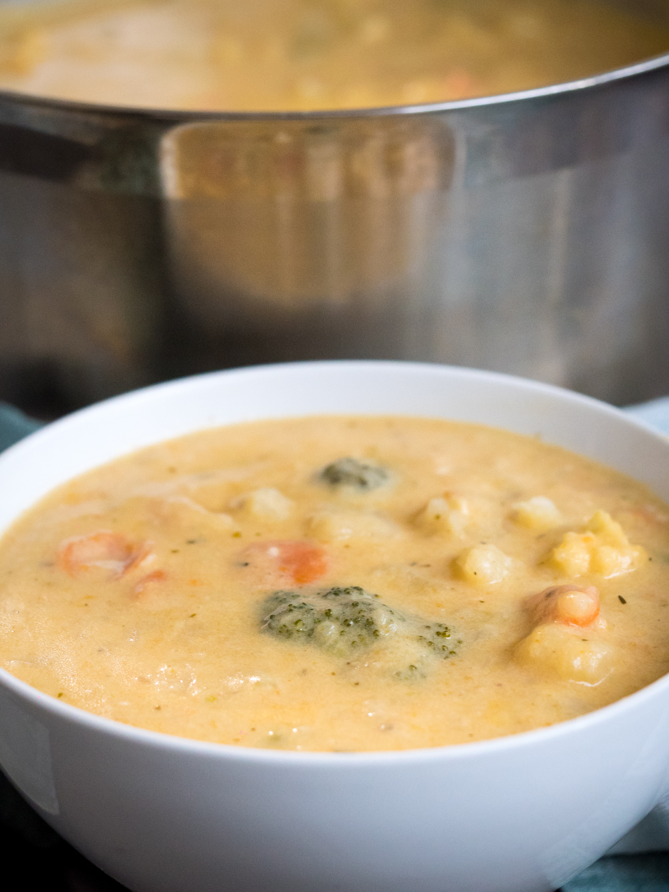 Cheesy Vegetable Chowder Vertical 2