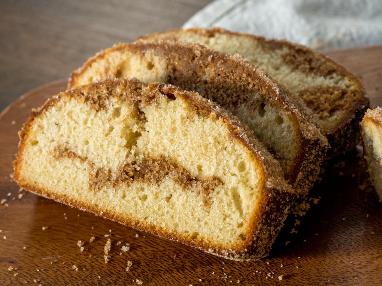 Cinnamon Swirl Doughnut Bread Horizontal 11