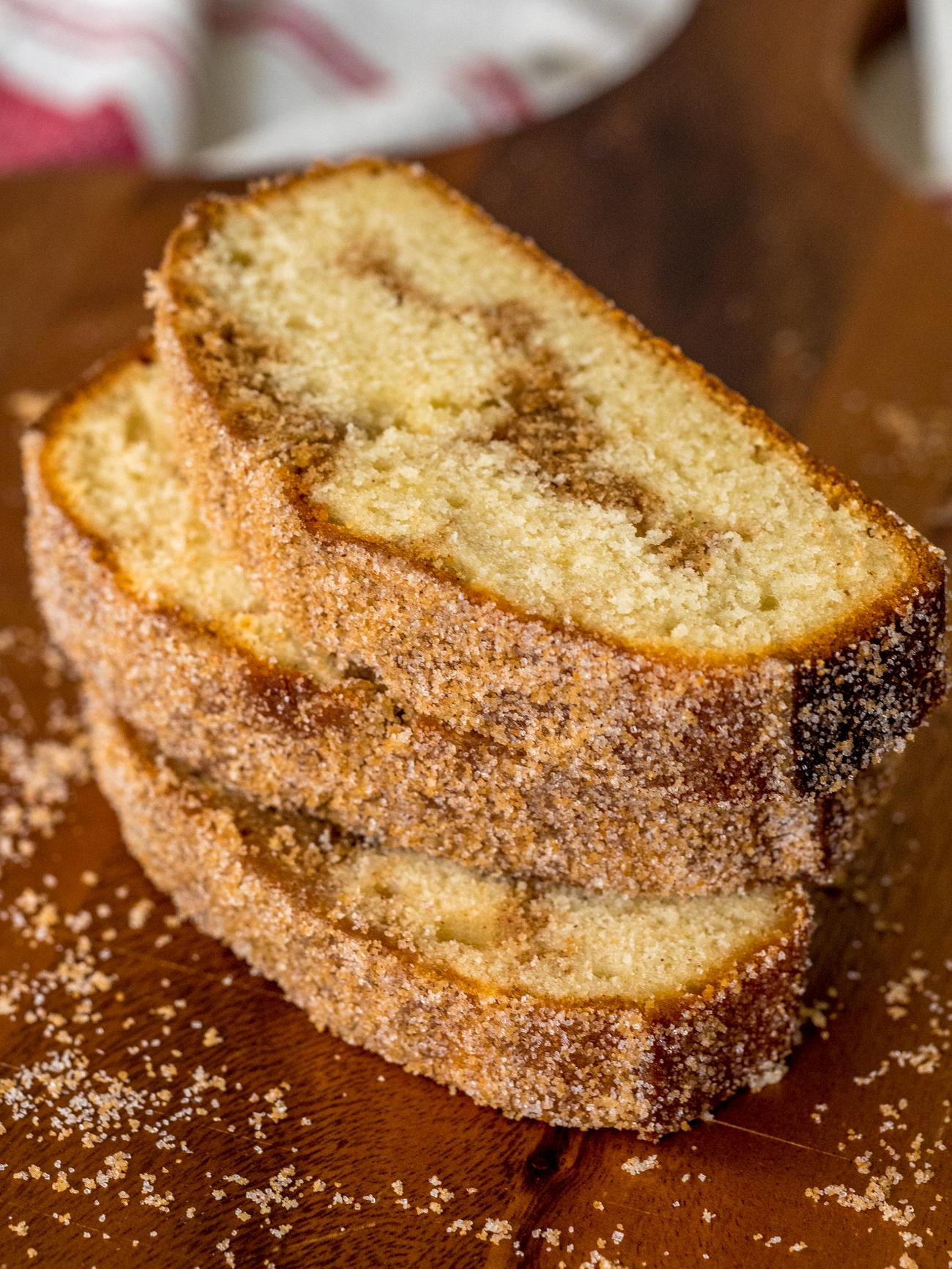 Cinnamon Swirl Doughnut Bread Vertical 2