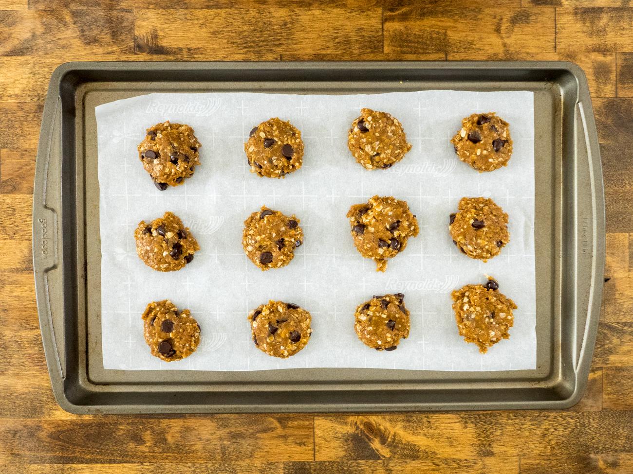 Healthier PB Oat Cookies Horizontal 1