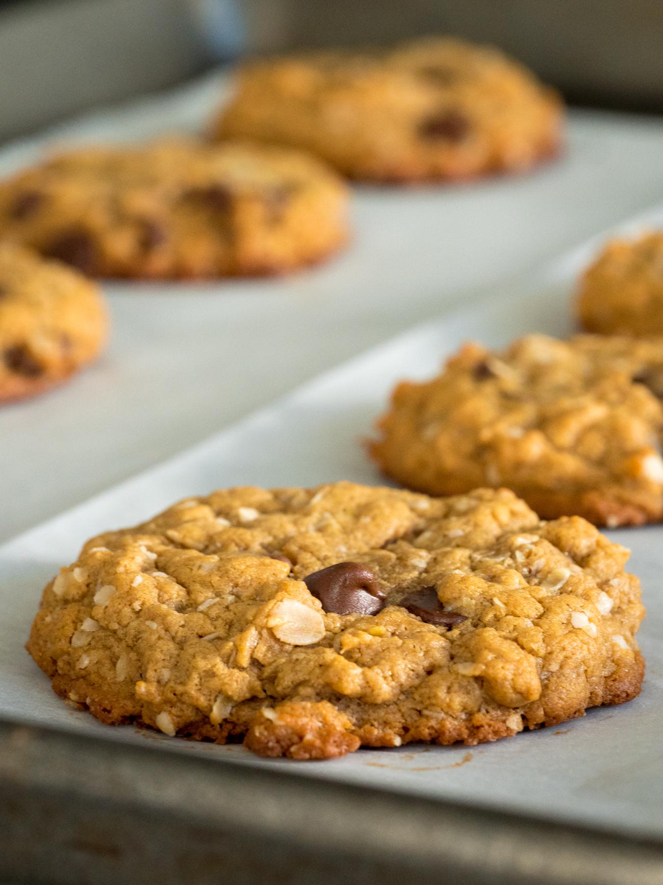 Healthier PB Oat Cookies Vertical 3
