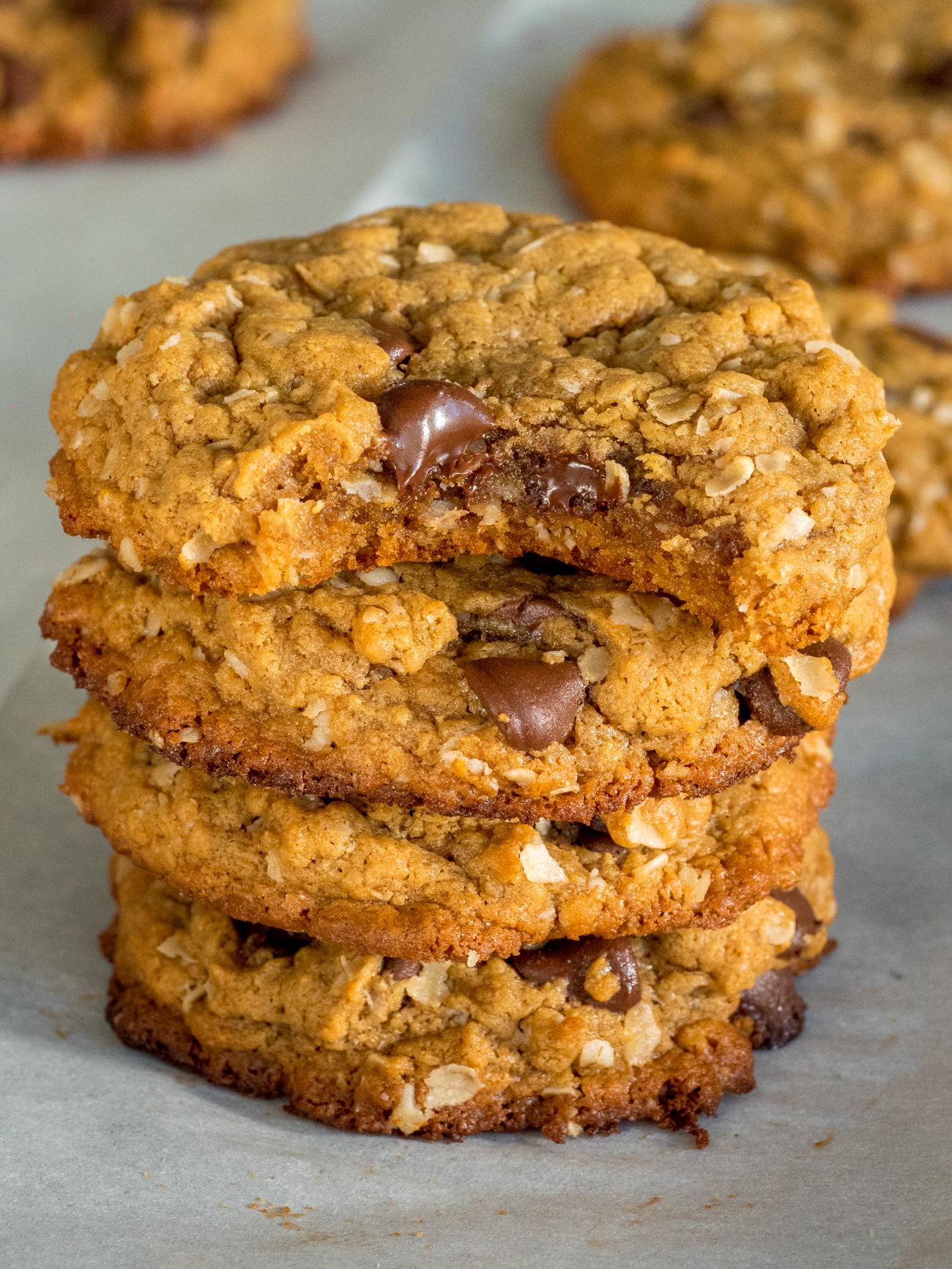 Healthier PB Oat Cookies Vertical 4