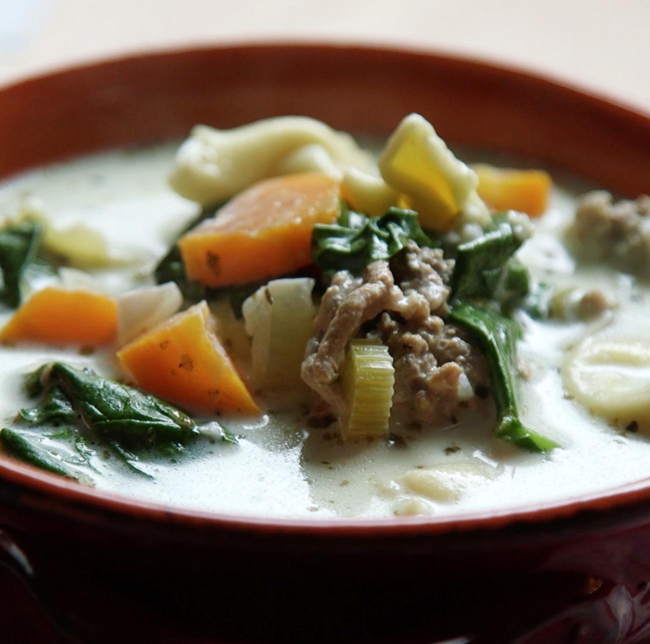 Pork Tortellini Soup 1