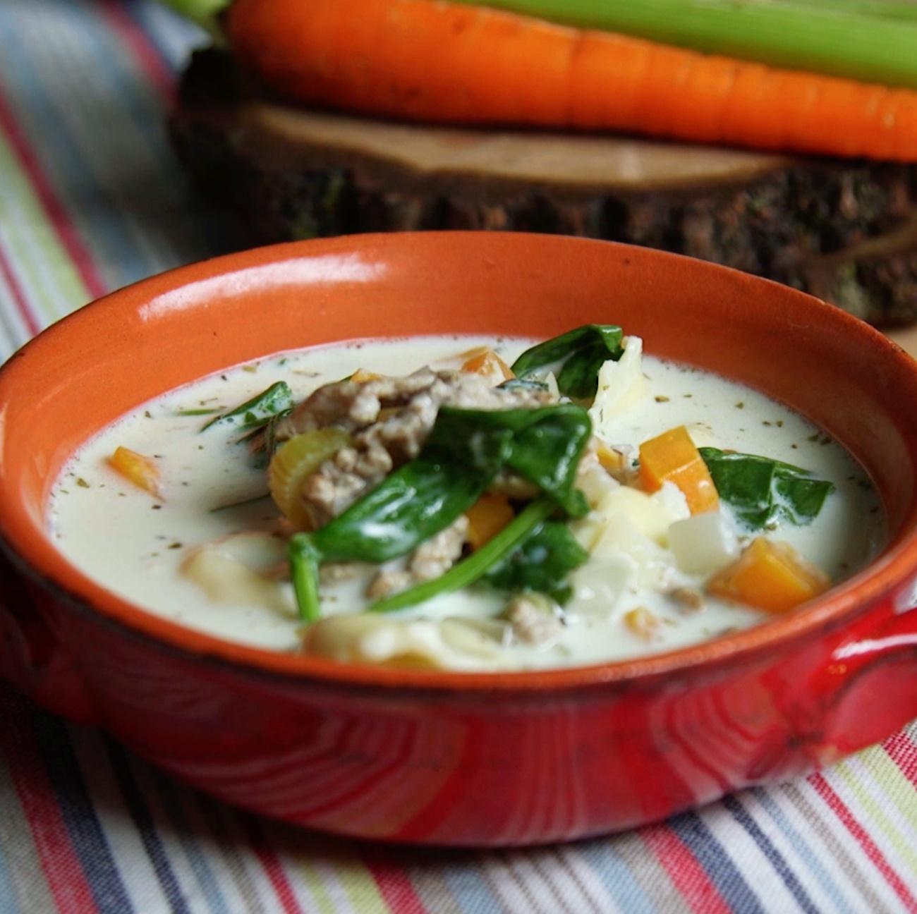 Pork Tortellini Soup 2