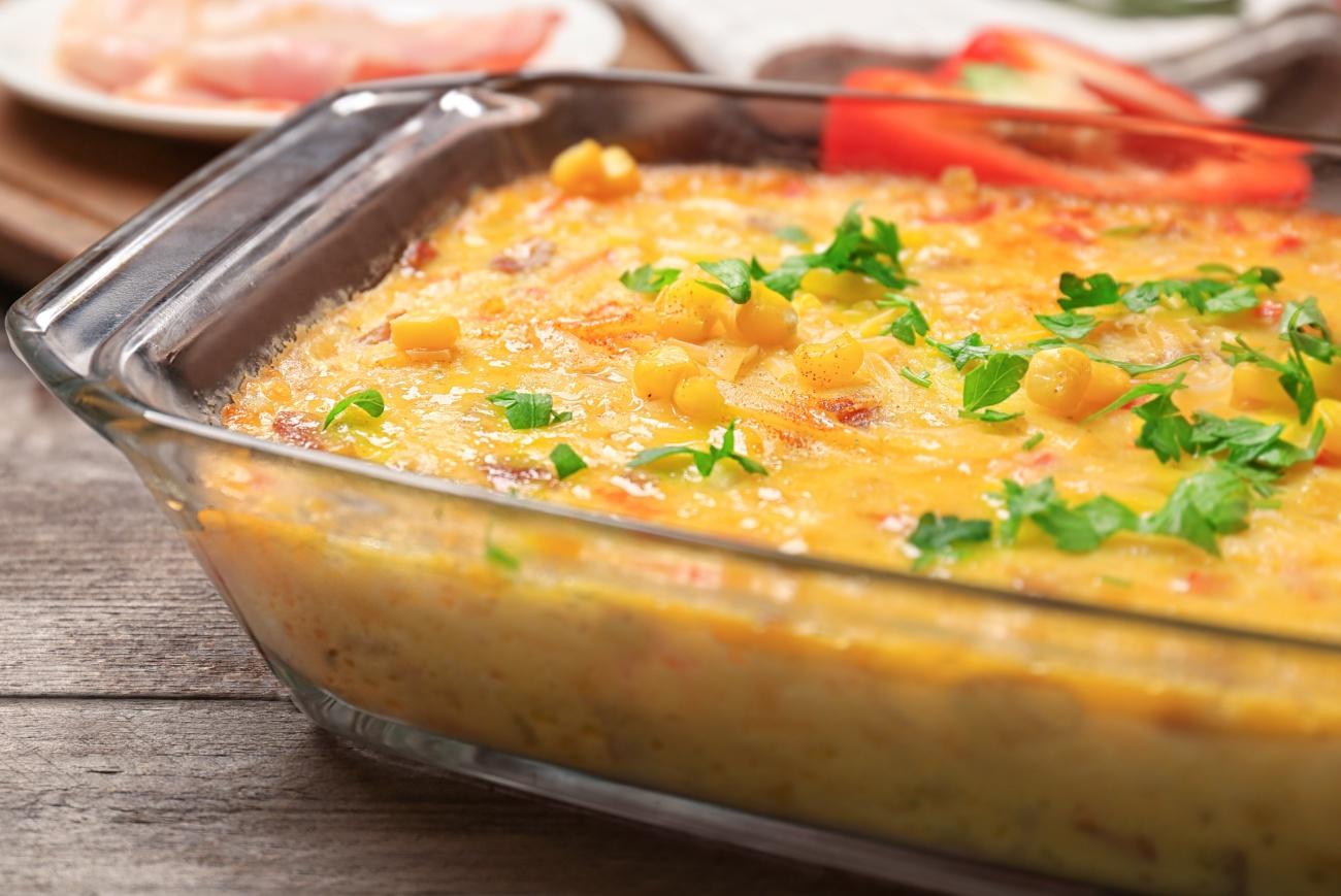 Savory Corn Pudding 1