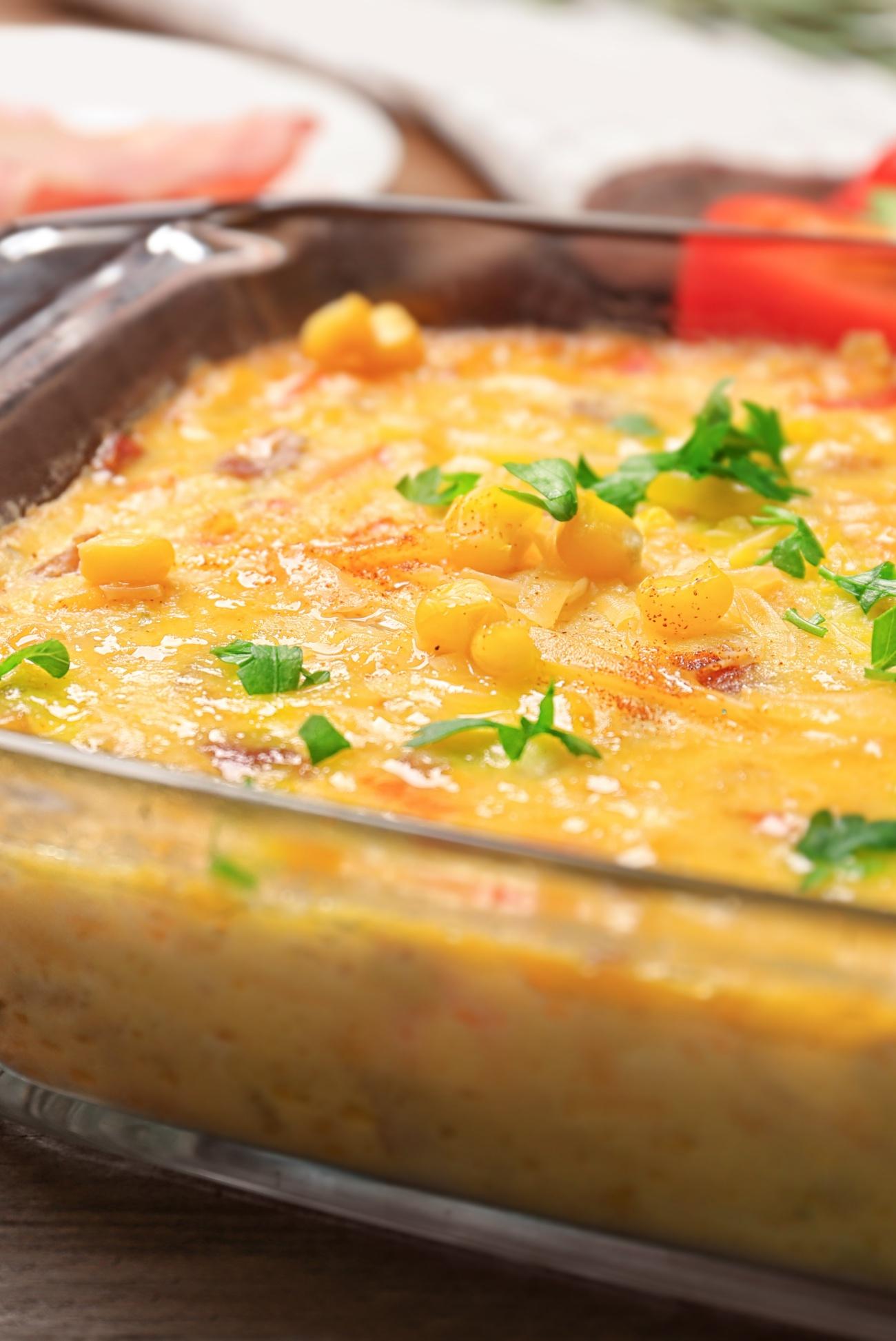 Savory Corn Pudding 3