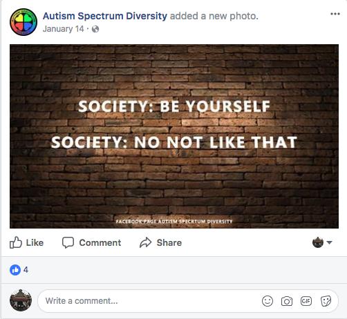 Facebook/Autism Spectrum Diversity