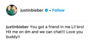 Bieber Instagram