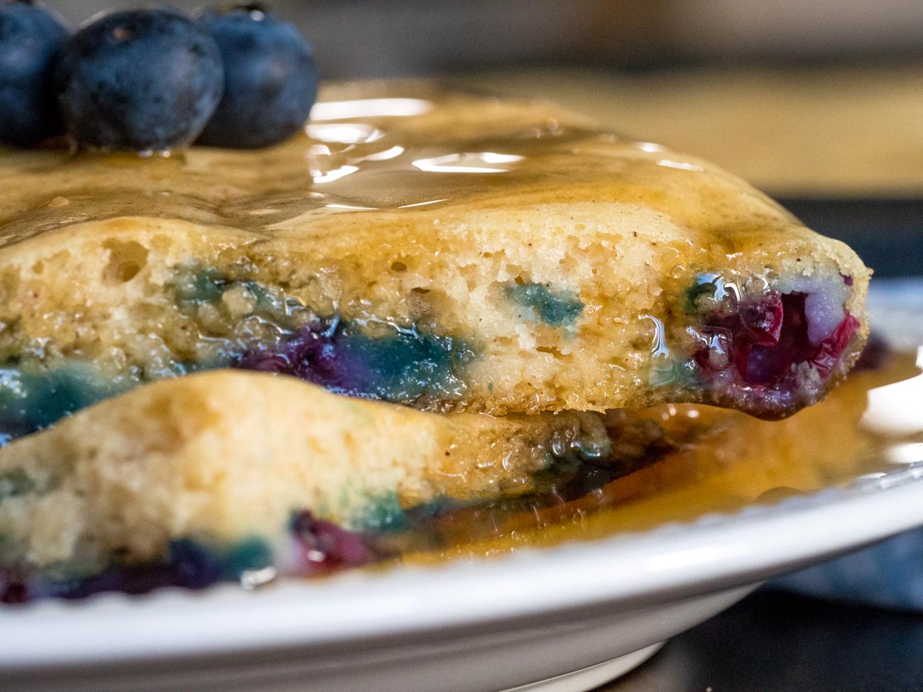 Sheet Pan Blueberry Pancakes Horizontal 4